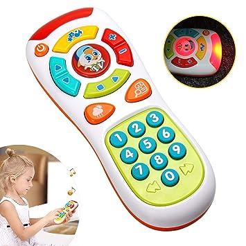 Baby Fernbedienung Spielzeug lernen Lichter Fernbedienung für Baby Klicken 0R