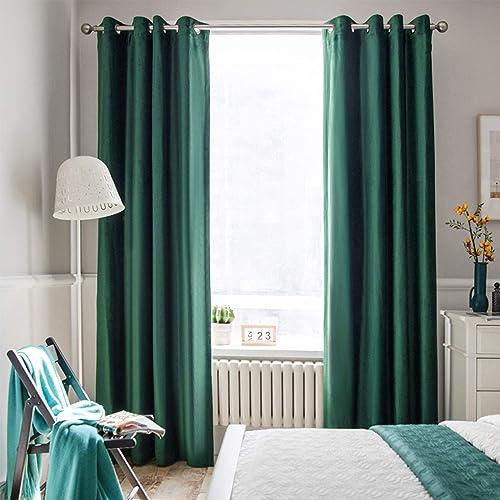 Melodieux 100 Blackout Velvet Curtains