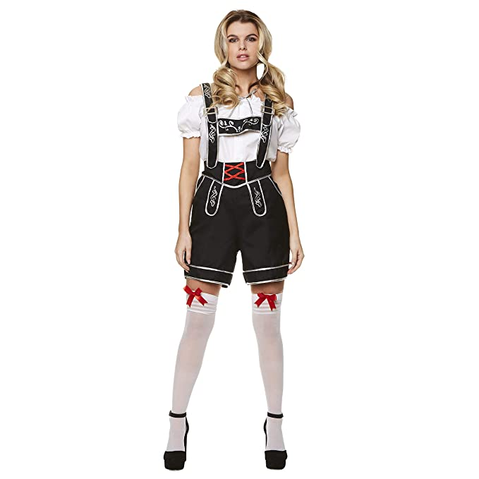 Amazon.com: Disfraz de chica bávara, para Halloween, fiesta ...