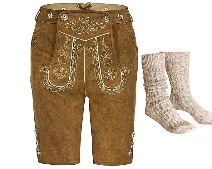 Traje regional para hombre compuesto por pantalones cortos ...