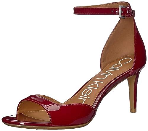 671ba129357 Calvin Klein Womens Luellen Heeled Sandal: Amazon.ca: Shoes & Handbags