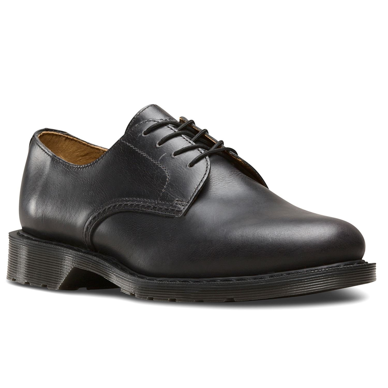 Dr.Martens Mens Octavius Leather Shoes  44 EU|Gunmetal