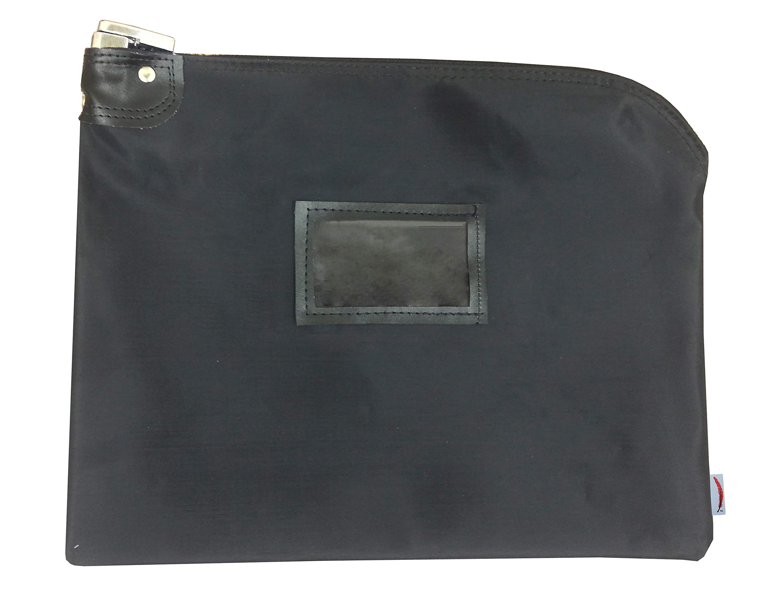 Locking Document HIPAA Bag 15 x 19 Medical File Security Legal Size Records Courier Bag (Black) by Cardinal bag supplies