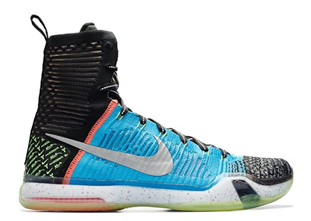 premium selection 43a70 57778 Nike Mens Kobe X Elite SE, What The Kobe-Multi-Color Reflective Silver, 8 M  US  Buy Online at Low Prices in India - Amazon.in