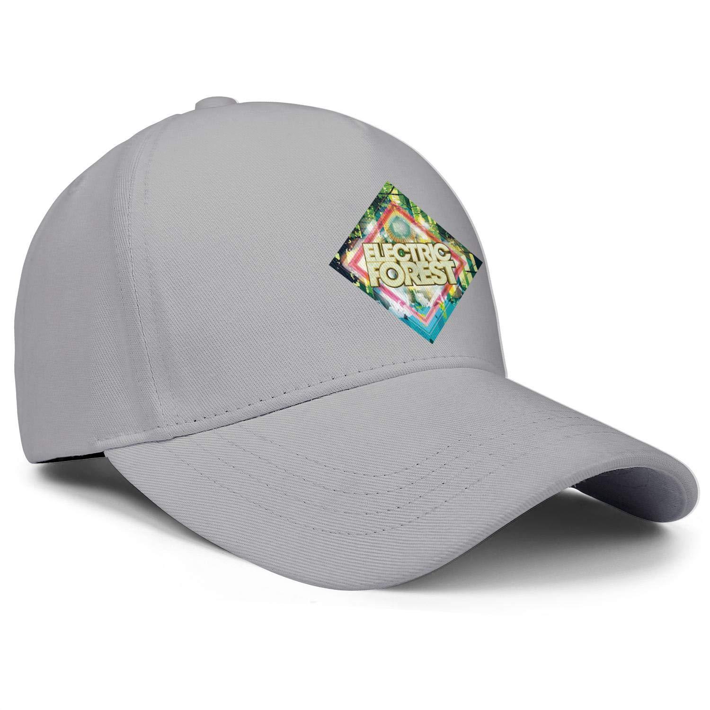 Electric Forest Festival Gold Logo Music Unisex Baseball Cap Soft Fit Running Hats Adjustable Trucker Caps Dad-Hat
