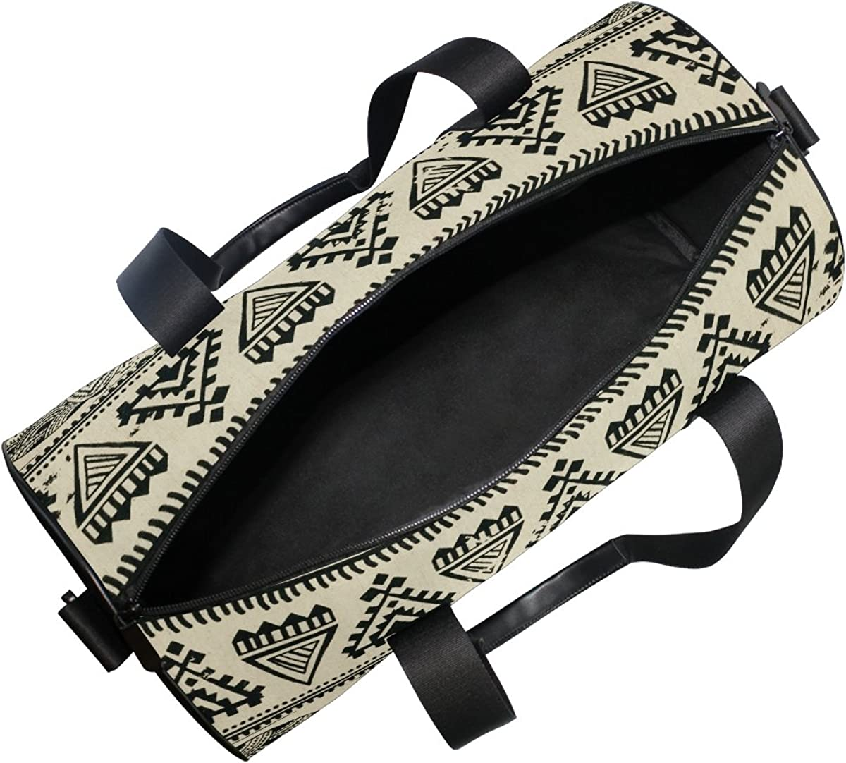 Evolutions Amazing Elephants Aztec Duffels Bag Sports Gym Bags for Men /& Women