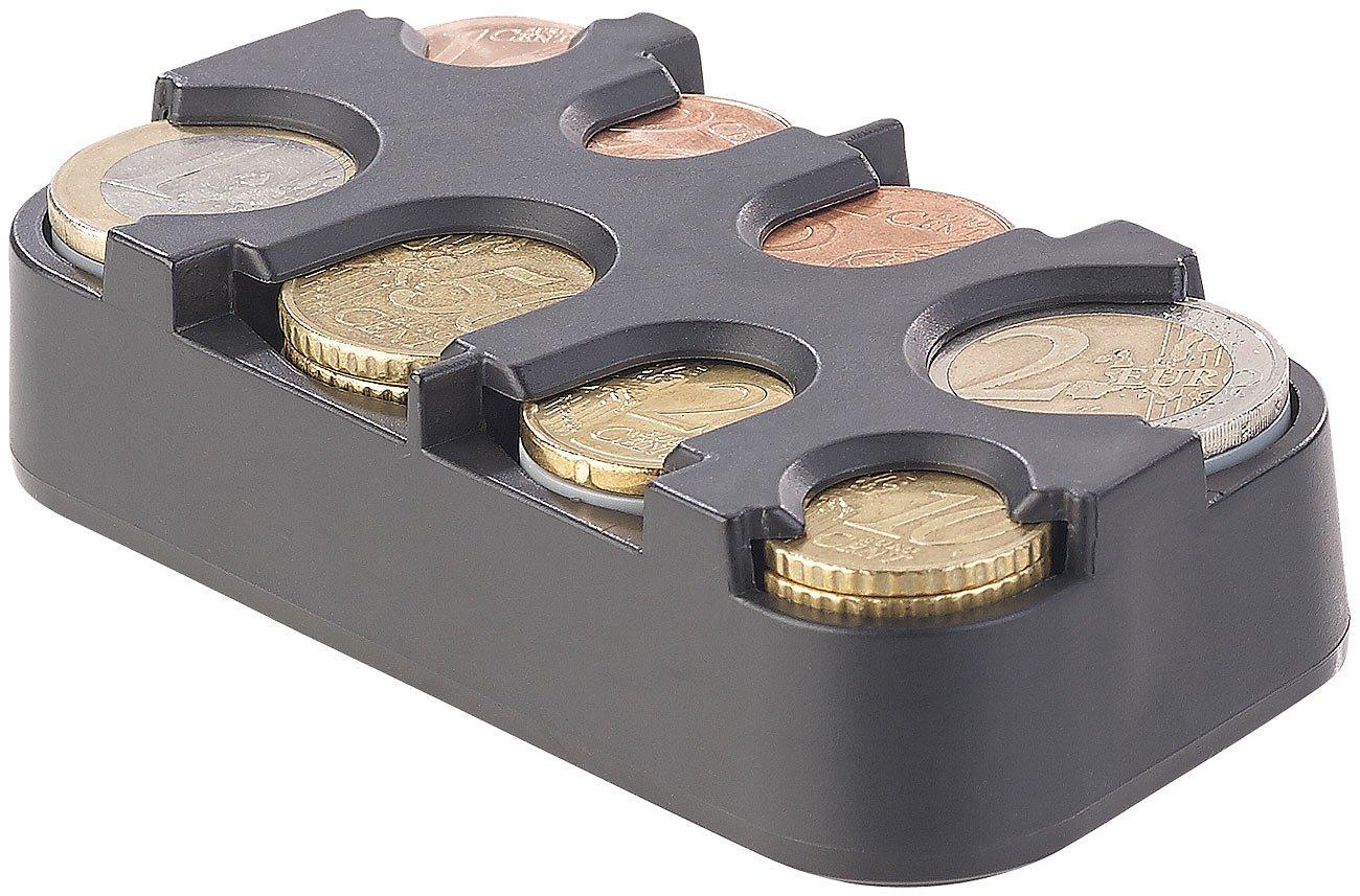 Infactory - Monedas de Coleccionistas: Juego de 2 Euro de monedas coleccionistas con rápido de fijación (monedas caja): Amazon.es: Oficina y papelería