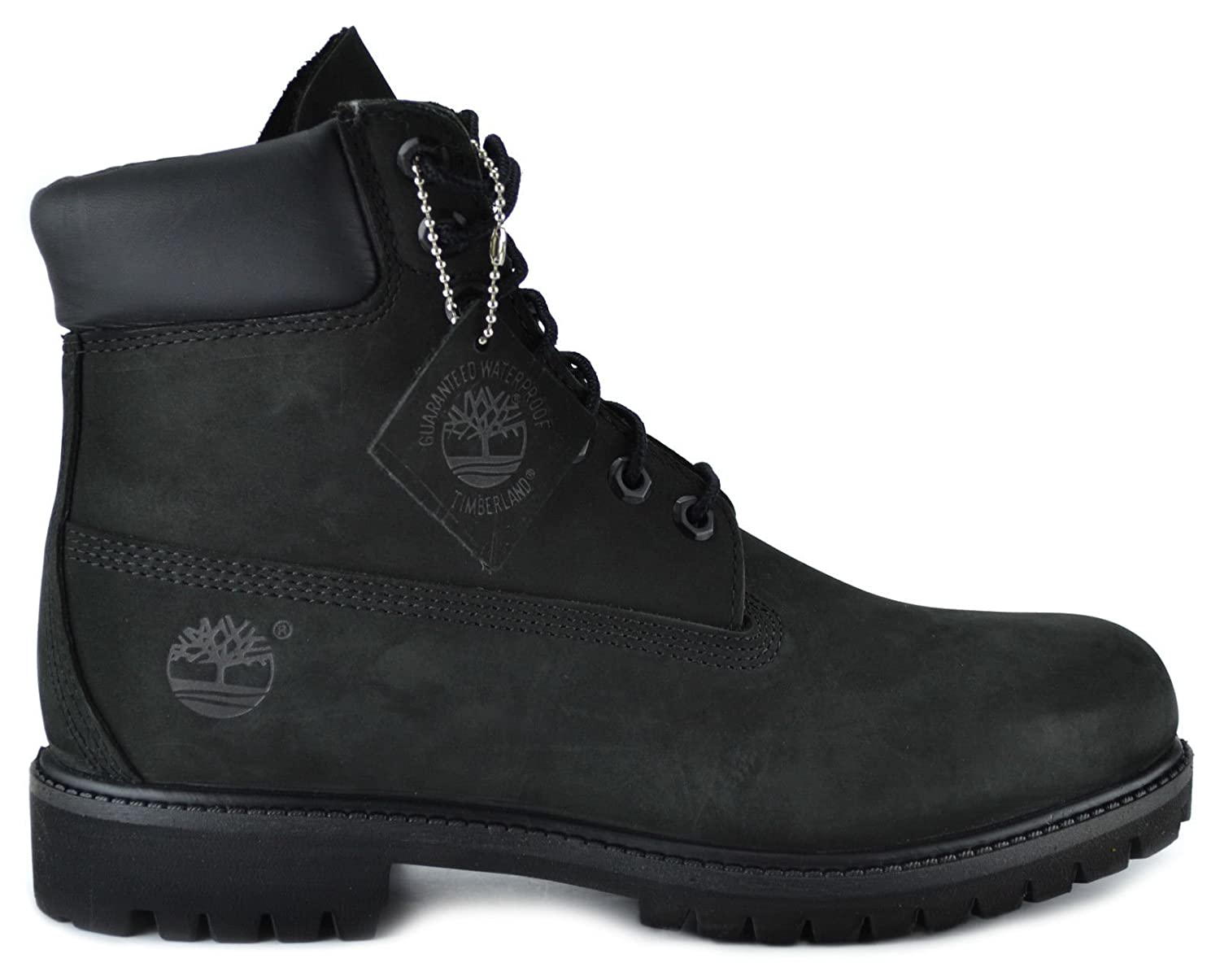 new concept 94cd2 f4691 Amazon.com   Timberland Men s 6-Inch Basic Waterproof Boots Black 10073    Motorcycle   Combat