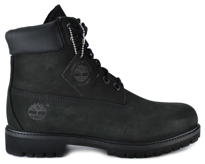 Timberland Men\u0027s 6,Inch Basic Waterproof Boots Black 10073