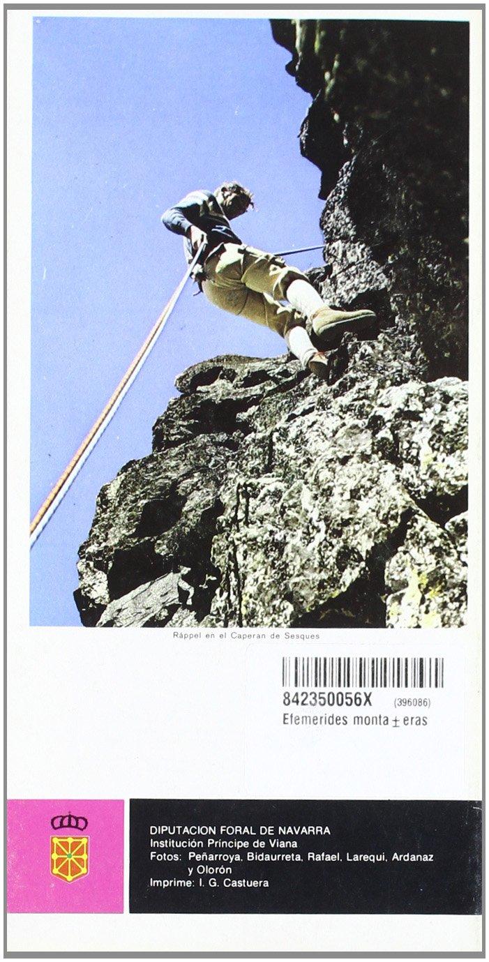 Efemerides montañeras: Amazon.es: Bidaurreta Olza, Daniel: Libros