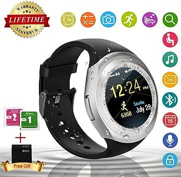 IFUNDA Smart Watch,Teléfonos Inteligentes Reloj Inteligente ...