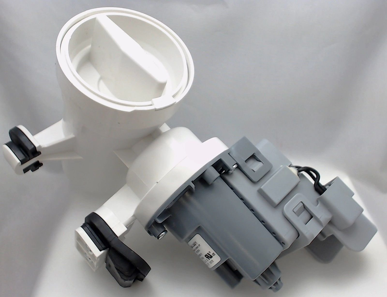 Non OEM Drain Motor Pump Assembly for Whirlpool, Sears Washer Replaces AP6023956, PS1960402, WPW10730972