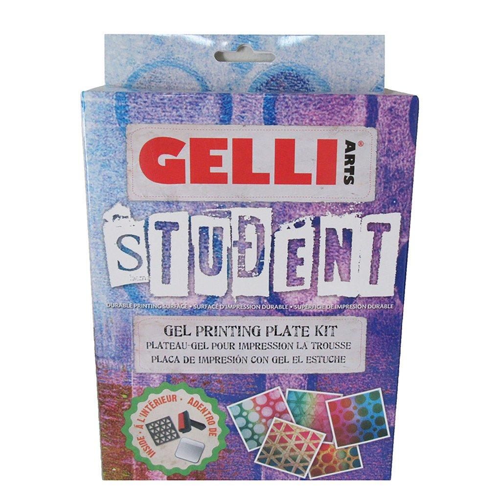 Plancha de Gel para Impresiones GELLI ARTS 13x13cm Kit Estud