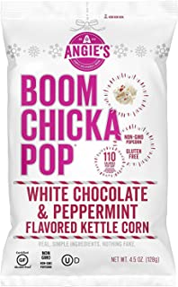 product image for Angie's Boomchickapop Holiday Limited Chocolaty Drizzled Kettle Popcorn 4.5oz (White Chocolate & Peppermint)