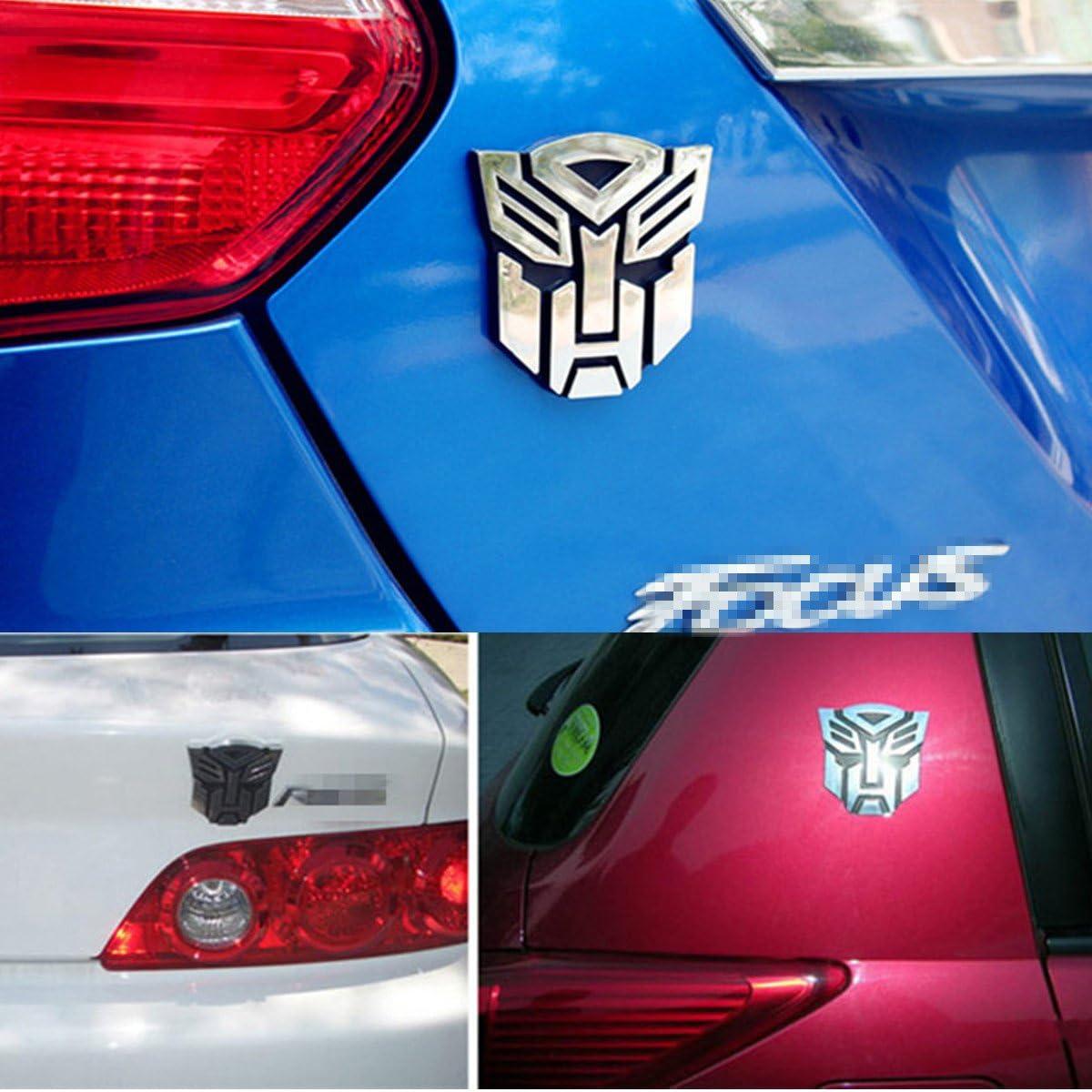 nument (TM) Transformers 3d estilo Pure Metal adorno de pegatinas ...
