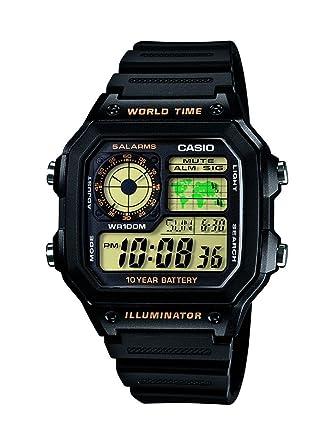 c6a8b4af26 Buy Casio Youth Digital Black Dial Men's Watch - AE-1200WH-1BVDF ...