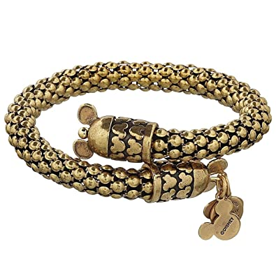 Amazon Com Disney Parks Mickey Mouse Metal Wrap Bracelet By Alex