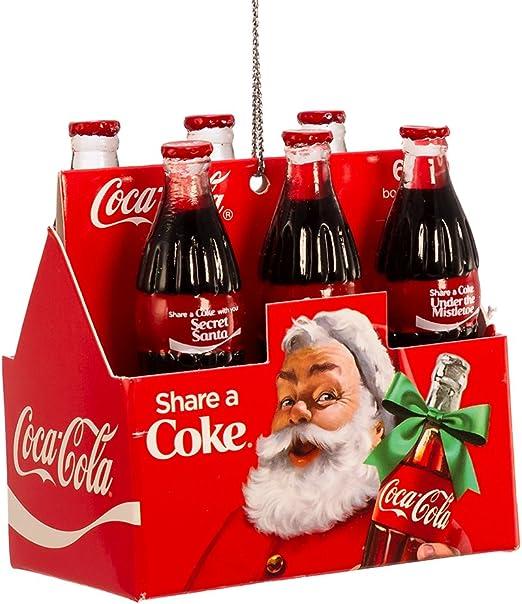 Coca-Cola  Kurt S Adler Fountain Drink Holiday Christmas Ornament BRAND NEW