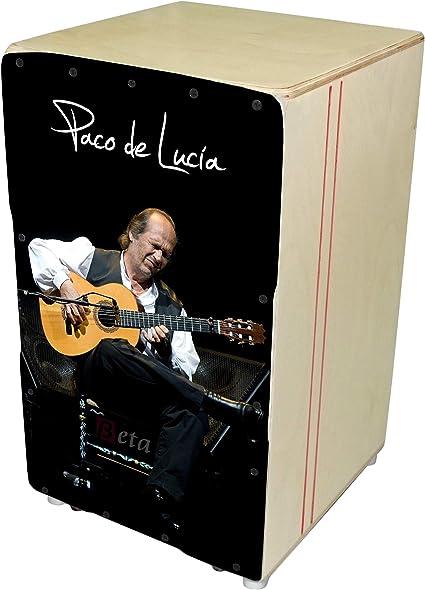Cajón flamenco Beta Élite mod. Paco de Lucía - Caja de percusión ...