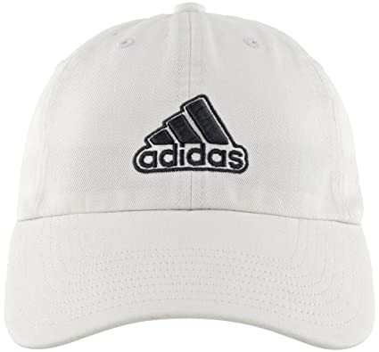 half off 8fe46 c7655 adidas Men s Ultimate Relaxed Fit Cap, White Onix, One Size