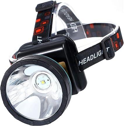 Rechargeable USB DEL projecteur Lampe de poche étanche Phare Tête Lampe