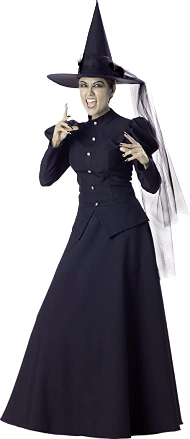 Disfraces Incharacter IC1022-L Wicked Witch Elite Adult Costume ...