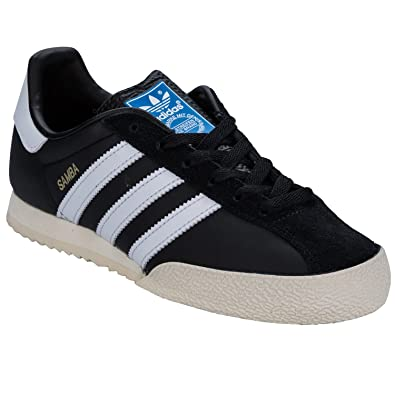 hot sale online 653d2 f0737 adidas Mens Originals Mens Samba Spezial Trainers in Black - UK 7.5