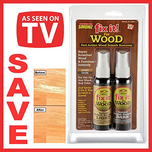 Amazon Fix it! Fast Action Wood Scratch Remover Home  Kitchen