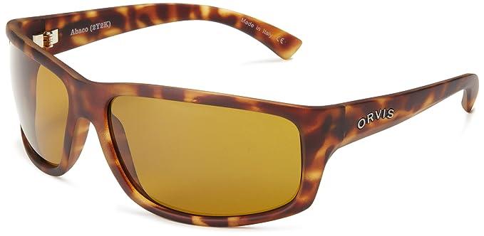 c554909673 Orvis Men s Abaco OR-ABCO-TOAM-PC0MCG Polarized Wrap Sunglasses ...