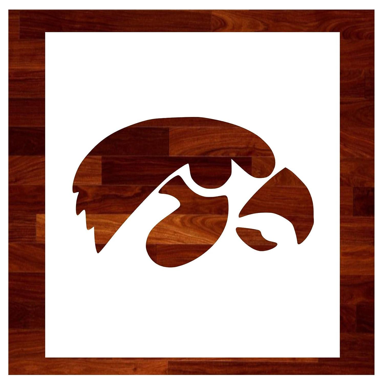 Amazon com: Iowa Hawkeyes ~ Stencil ~ Multiple Sizes