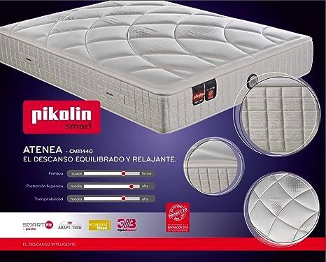 Colchón de muelles ensacados Pikolin Atenea - 135x190cm: Amazon.es: Hogar