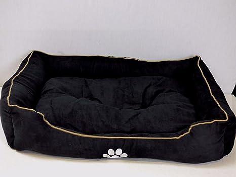 BUNNY BUSINESS Conejo negocios rectangular acolchado perro cama, 50 cm/50,8 cm