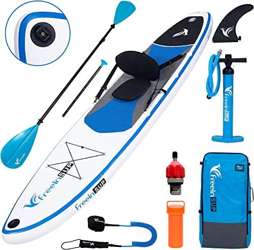 Lightweight Inflatable Kayak Canoe Hybrid with Seat for Youth & Adult [Freein] Picture