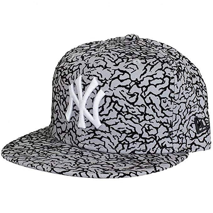 New Era Mujeres Gorras / Gorra plana Flock Crown NY Yankees: Amazon.es: Ropa y accesorios