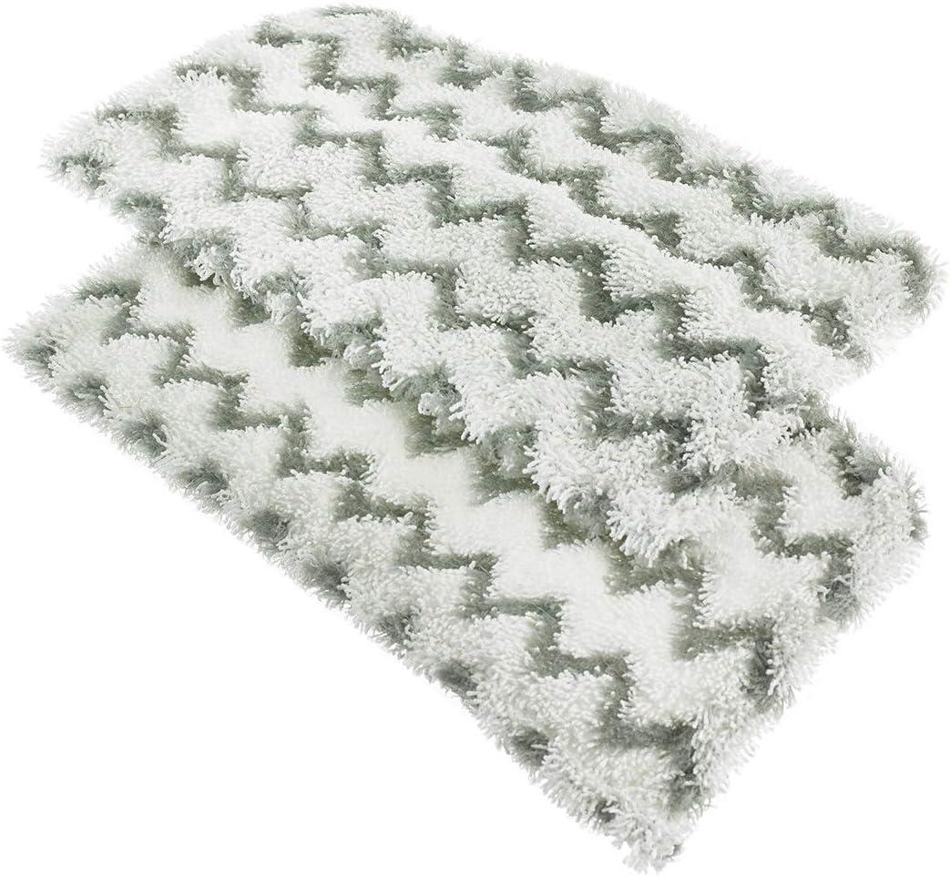 Shark DGP2S1000UKE Dirt Grip Almohadillas para Mopa de Vapor S1000 White Plastic Paquete de 2
