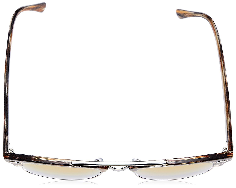 ec5260679e6 Amazon.com  Ray-Ban 0rb38161238i351clubmaster Doublebridge Non-Polarized  Iridium Square Sunglasses GUNMETAL 51 mm  Clothing