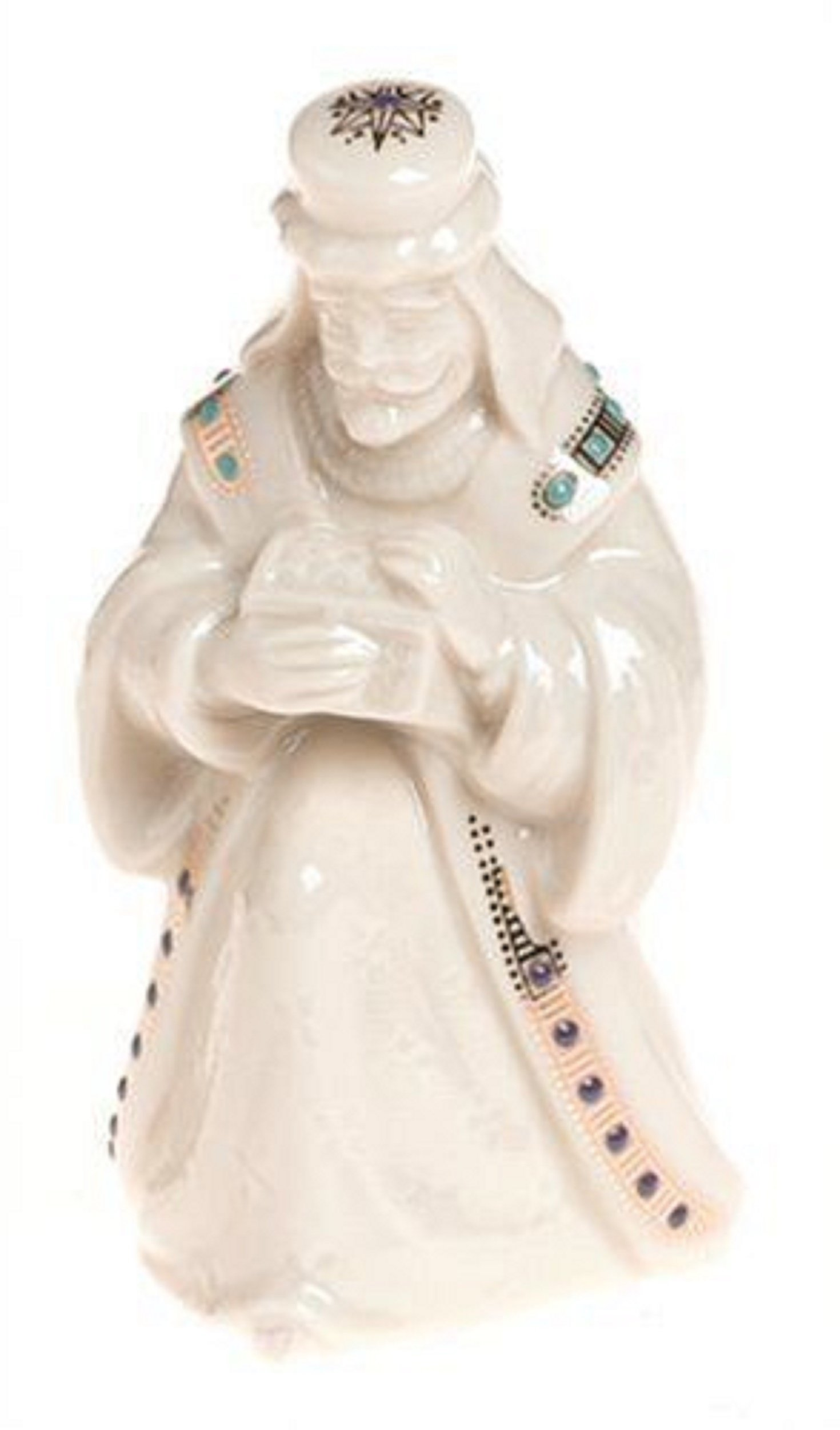 Lenox China Jewels Nativity 3 Wise Men Figurines Three Kings Melchior Balthazaar