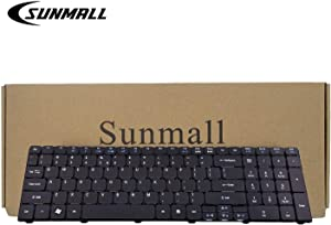 SUNMALL Laptop Keyboard Replacement for Acer Aspire 5253 5336 5551 5552 5733 5733z 5733z-4851 5742 5750 7551 5810 Series US Layout