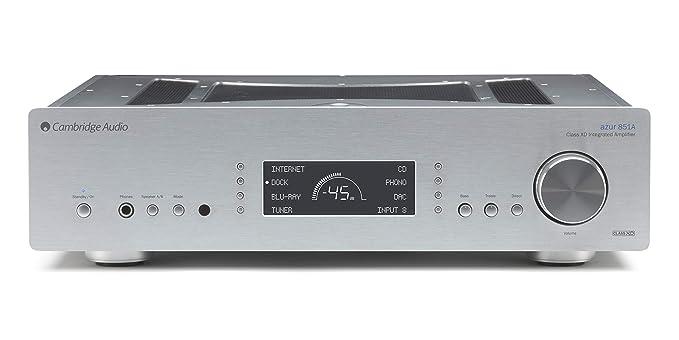 Cambridge Audio 851ASilver - Amplificador híbrido, plateado ...