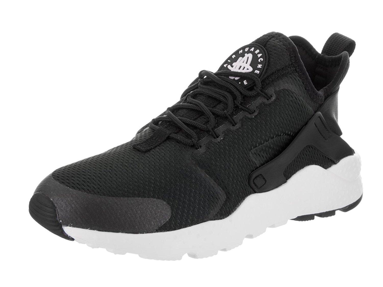 sports shoes 11b44 74eb4 Galleon - Nike Women s Air Huarache Run Ultra Black Black Black White  Running Shoe 11 Women US