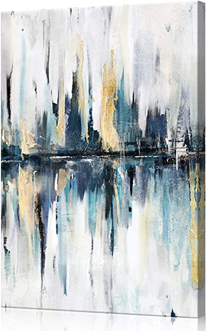 Abstract Original Oil Painting 16x24