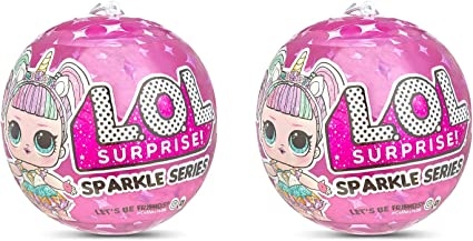 L.O.L Surprise Limited Edition Glitter Series 2 Pack LOL Surprise Series 1