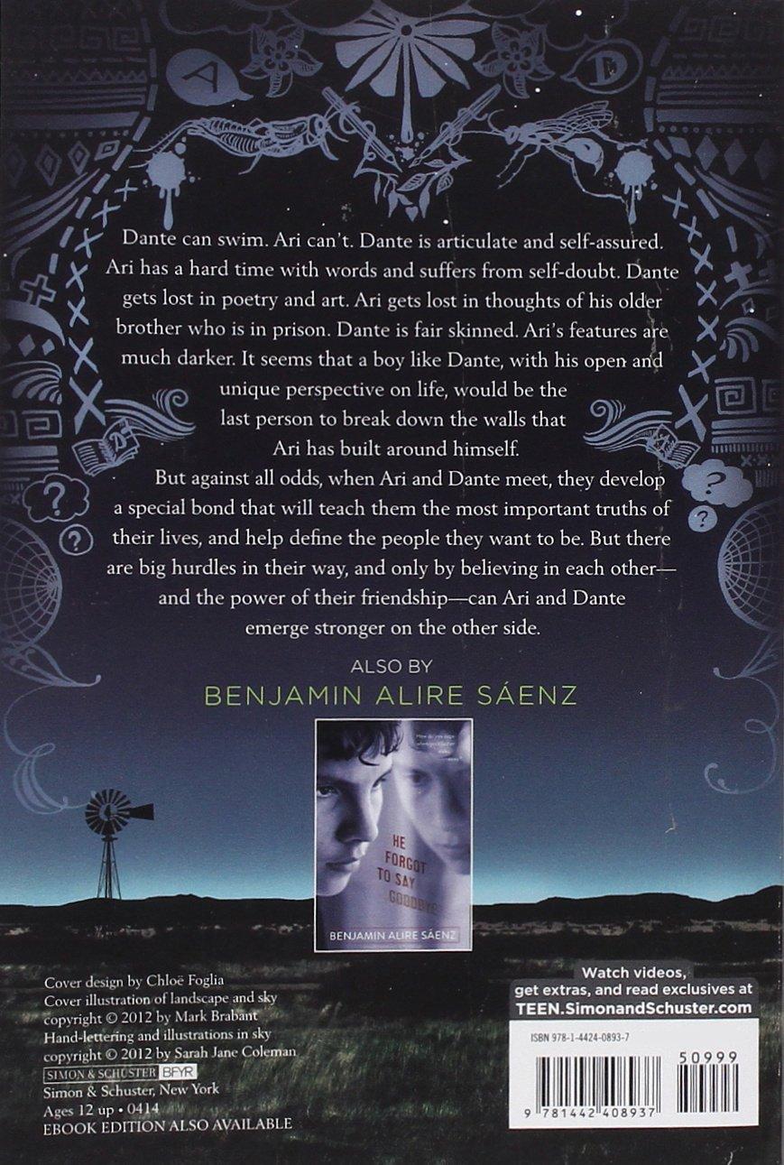 Amazon.com: Aristotle and Dante Discover the Secrets of the Universe (8601404293382): Benjamin Alire Saenz: Books