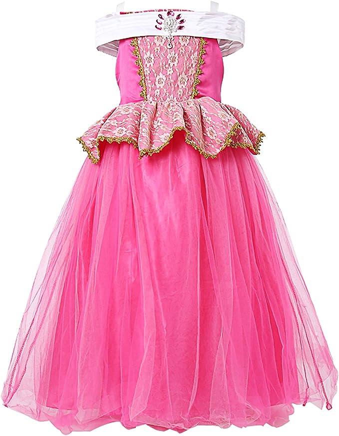 Vestido Princesa Niña,Disfraz Princesa Viste a Party Fancy ...