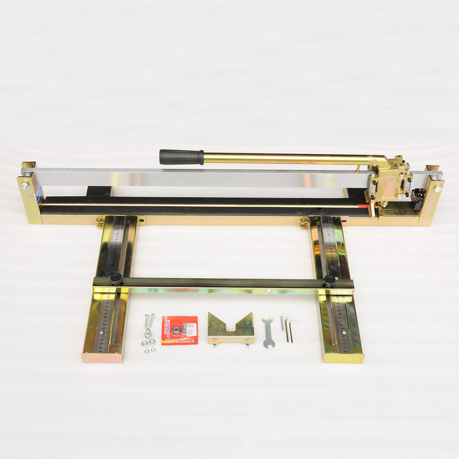 Wotefusi Manual Tile Cutter 31.5 inch Tile Saw Cutting Tool with Metal Rail for Tile Stone Material