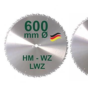 Sehr HM Sägeblatt 600 x 30 mm LWZ Hartmetall Präzision Kreissägeblatt PX99