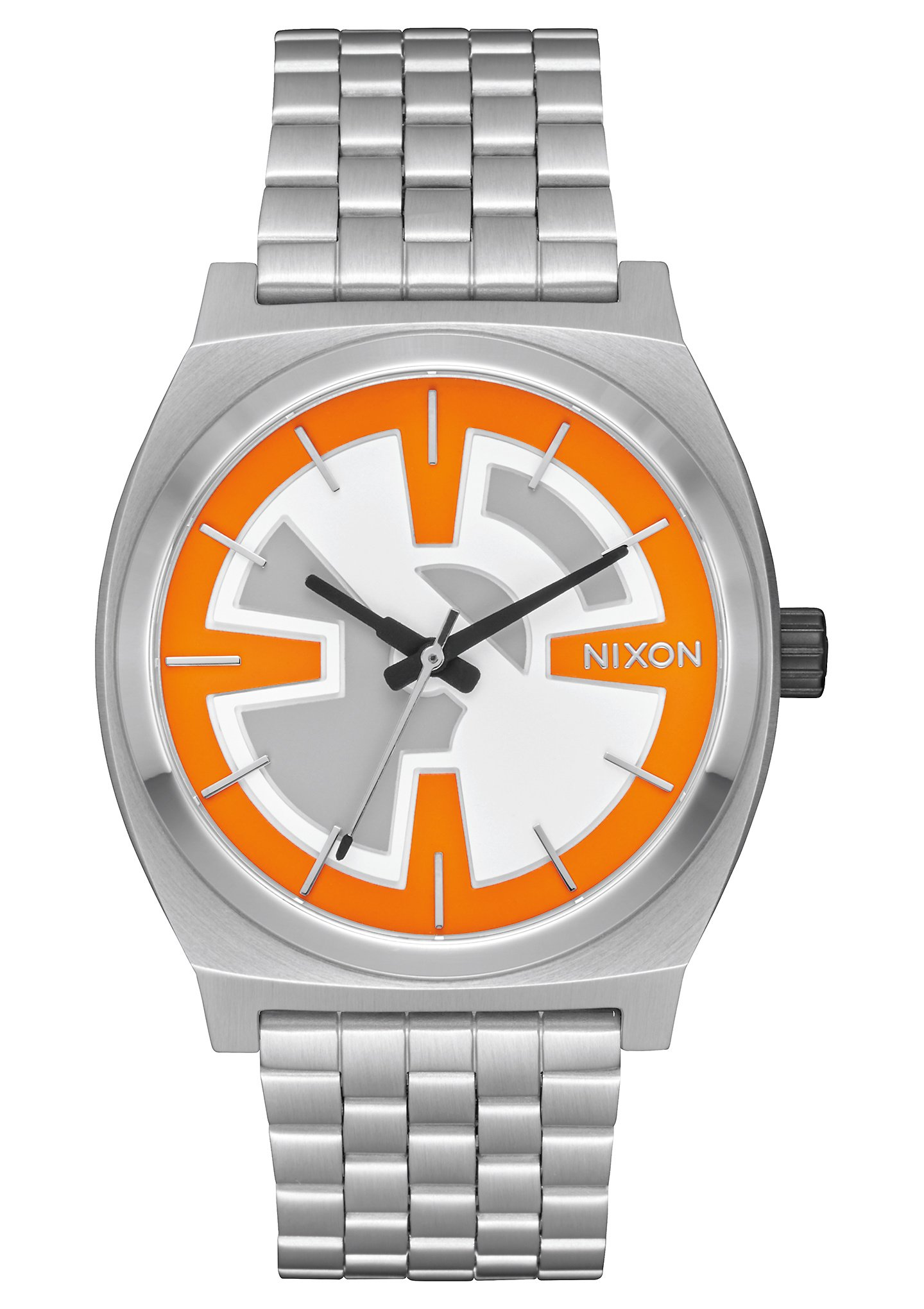 Nixon Unisex Time Teller - Star Wars Collection Bb-8 Orange/Black Watch by NIXON