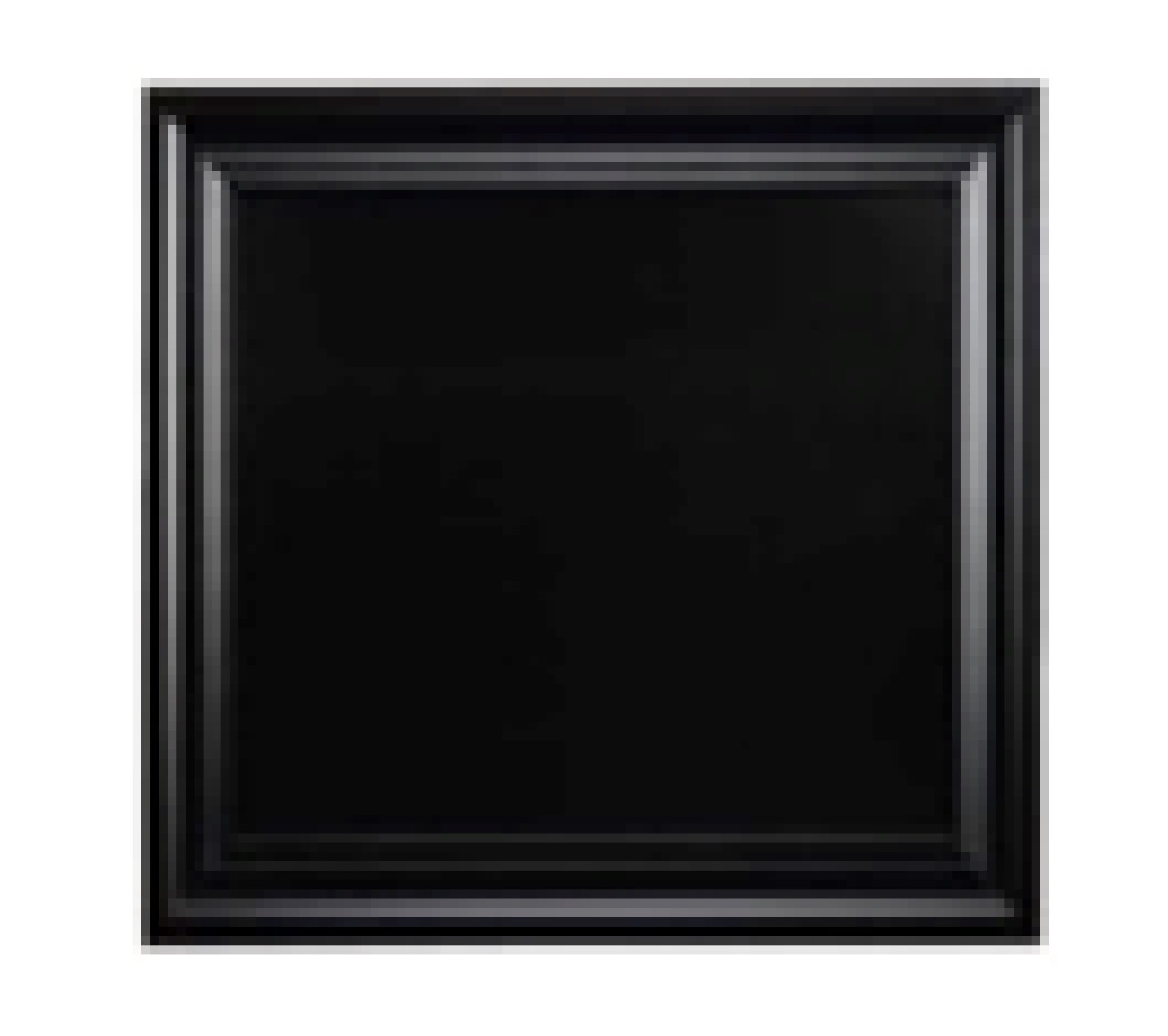 Linon AMX-3024CHBLK-1 Chalkboard with Black Frame, 24 by 30'', 24 x 30, Black