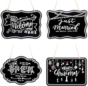 wall hanging 14 x 6 inch. ready to ship CLOUD chalkboard sign black wedding chic party multiuse home decor photo prop sign