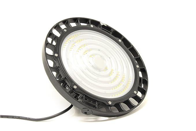 FactorLED Campana industrial LED UFO 100W Chip Brigdelux 3030-3D 150lm/w Dimable TRIAC